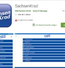SachsenKrad APP – Messevorbereitung online und per APP