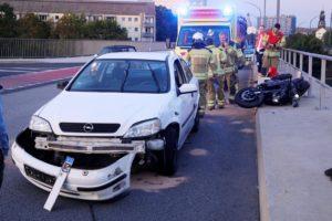 Der Autofahrer war betrunken. 1,8 Promille ergab die Messung am Unfallort.
