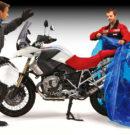 Motorrad winterfest machen