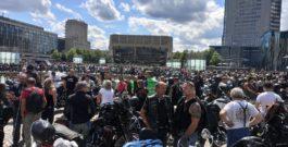 Zur Bikerdemo nach Leipzig kamen ca. 16000!