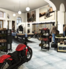 Erster Blick ins neue Chemnitzer Harley-Domizil
