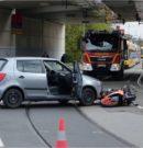 KTM-Fahrer bei Unfall verletzt