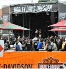 Sie waren nicht zu übersehen und nicht zu überhören – die Harley Days Dresden